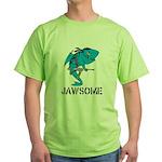 Jawsome Army Green T-Shirt