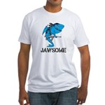 Jawsome Army Fitted T-Shirt