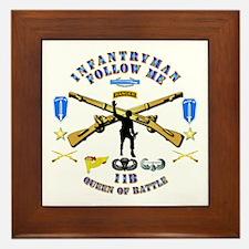 Infantry - Follow Me Framed Tile