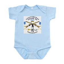 Infantry - Follow Me Infant Bodysuit