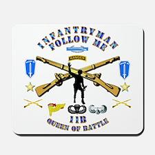 Infantry - Follow Me Mousepad