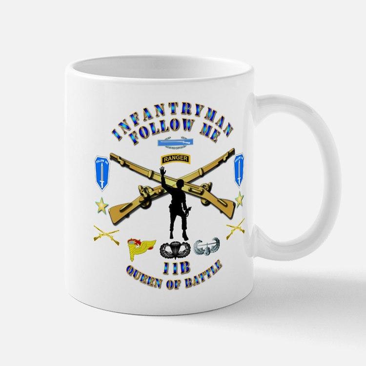 Infantry - Follow Me Mug