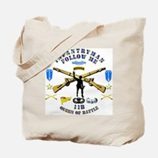 Infantry - Follow Me Tote Bag