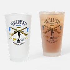 Infantry - Follow Me Drinking Glass