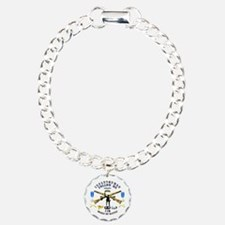 Infantry - Follow Me Charm Bracelet, One Charm