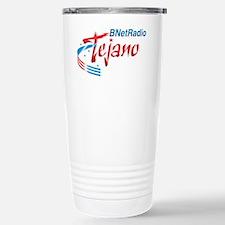 Logo white Travel Mug