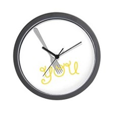 Fork You Wall Clock