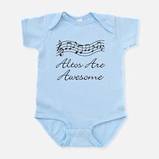Alto Singer Gift Funny Infant Bodysuit