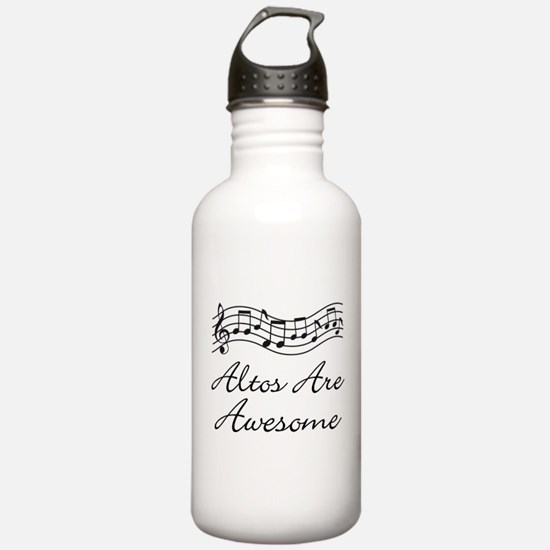 Alto Singer Gift Funny Water Bottle