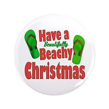 """Flip Flop Christmas 3.5"""" Button"""