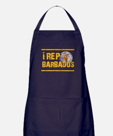 I rep Barbados Apron (dark)