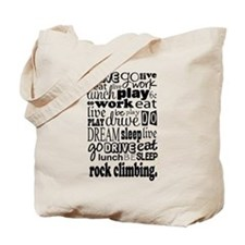 Rock Climber Gift Tote Bag