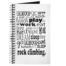 Rock Climber Gift Journal