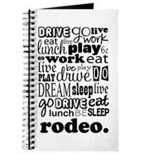 Rodeo Gift Journal