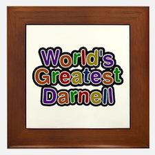 World's Greatest Darnell Framed Tile