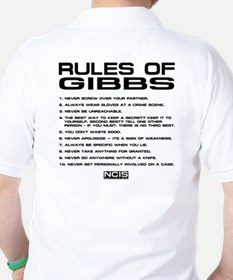 NCIS: Gibbs Rules2 Golf Shirt