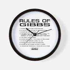 NCIS: Gibbs Rules2 Wall Clock