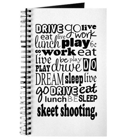 Skeet Shooting Gift Journal