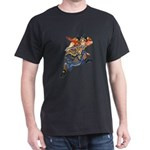 Japanese Samurai Warrior Dark T-Shirt