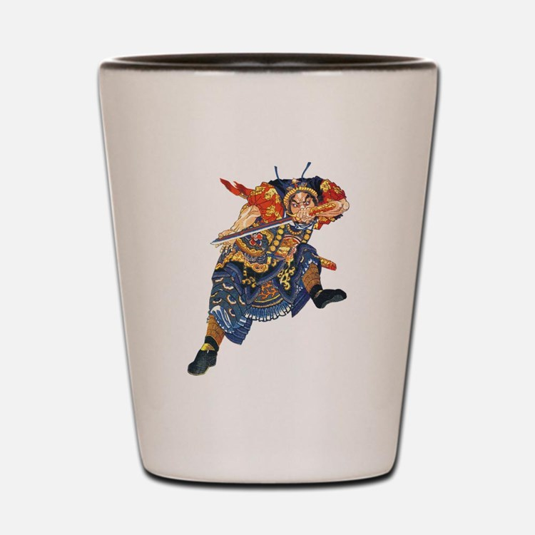 Japanese Samurai Warrior Shot Glass