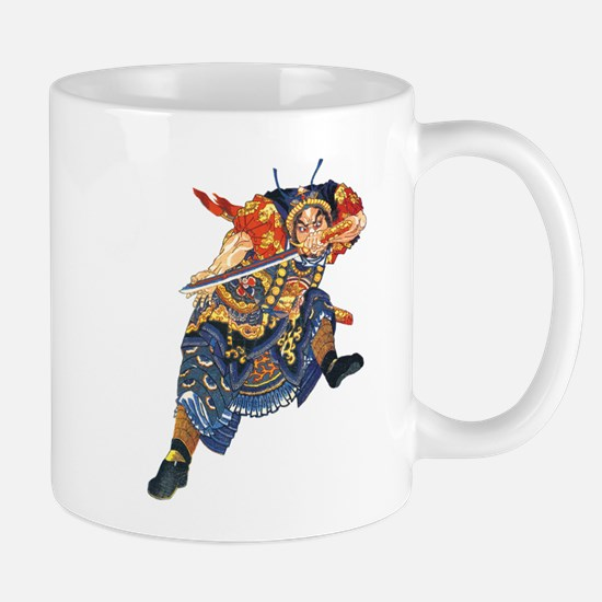 Japanese Samurai Warrior Mug