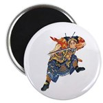 Japanese Samurai Warrior Magnet