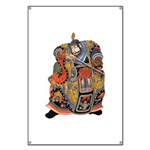 Japanese Samurai Warrior Banner