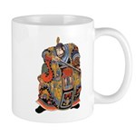Japanese Samurai Warrior Mug