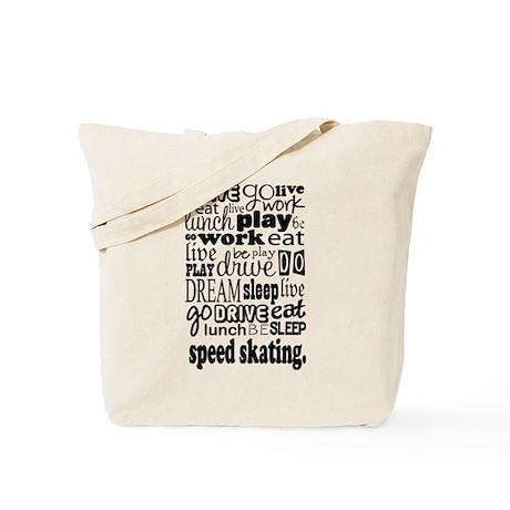 Speed Skater Gift Tote Bag