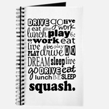 Squash Player Gift Journal