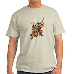 Japanese Samurai Warrior Light T-Shirt