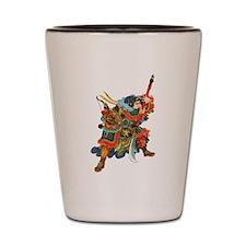 Japanese Samurai Warrior Shot Glass