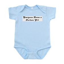 Loves Durham Girl Infant Creeper