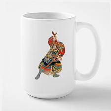 Japanese Samurai Warrior Large Mug