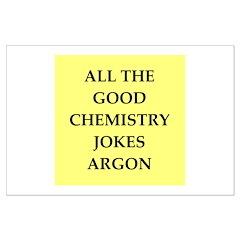 funny chenistry joke Posters