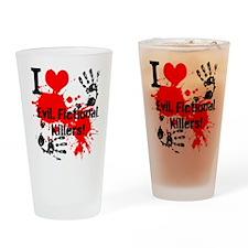 Killer Love Drinking Glass