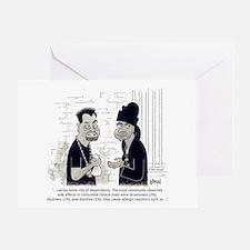Dealer Disclaimer Greeting Card