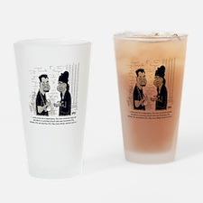 Dealer Disclaimer Drinking Glass