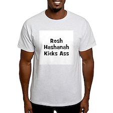 Rosh Hashanah Kicks Ass Ash Grey T-Shirt