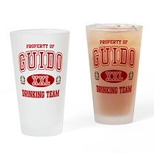 Guido Italian Drinking Team Drinking Glass