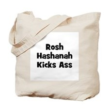 Rosh Hashanah Kicks Ass Tote Bag
