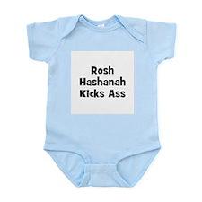 Rosh Hashanah Kicks Ass Infant Creeper