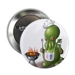 """Anime Style BBQ 2.25"""" Button (10 pack)"""