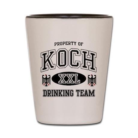 Koch German Drinking Team Shot Glass