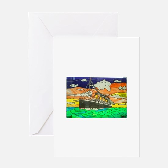 Cute 100th anniversary of sinking Greeting Card