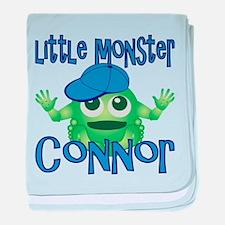 Little Monster Connor baby blanket