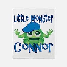 Little Monster Connor Throw Blanket