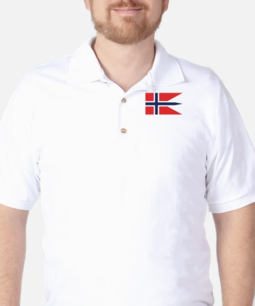 Norway State Flag Golf Shirt