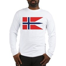 Norway State Flag Long Sleeve T-Shirt
