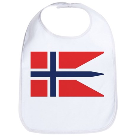 Norway State Flag Bib